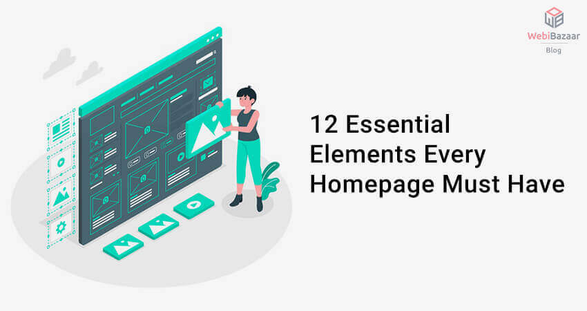 12 Essential Elements For Every Homepage Must Have
